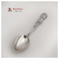 Vintage New Jersey Souvenir Demitasse Spoon Watson Sterling Silver