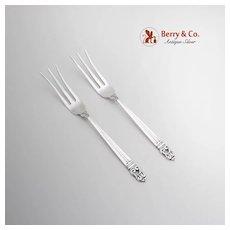 Royal Danish Lemon Fork International Sterling Silver