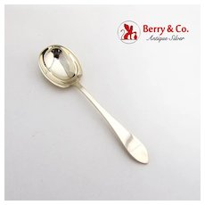 Faneuil Ice Cream Spoon Rounded Bowl Tiffany Co Sterling Silver 1910