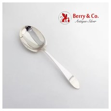 Faneuil Preserve Spoon Tiffany Co Sterling Silver 1910