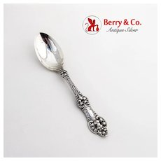 Old Orange Blossom Teaspoon Alvin Sterling Silver Pat 1905 No Mono