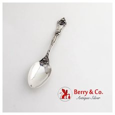 Intaglio Teaspoon Reed Barton Sterling Silver Pat 1900 Monogram