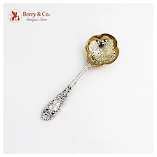Sugar Sifter Renaissance Dominick and Haff 1894 Sterling Silver Mono B