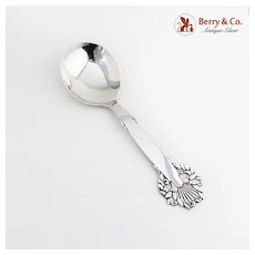 Berry Spoon Wreath Openwork Frigast Denmark Sterling Silver 1960