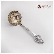 Medallion Sugar Sifter Gorham Sterling Silver 1864