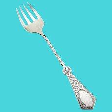 Antique Baby Fork Sterling Silver Birmingham 1876