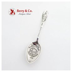 Knights Templer in Denver Souvenir Spoon Watson Sterling Silver 1913