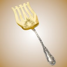Number 10 Asparagus Server Sterling Silver Dominick and Haff 1896