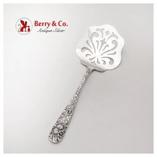 Rose Waffle Server Sterling Silver Stieff 1892