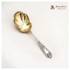 Renaissance Berry Spoon Sterling Silver Dominick and Haff 1894