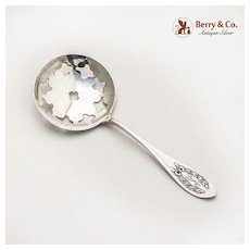 Napoleonic Bon Bon Candy or Nut Spoon Sterling Silver Shreve 1905