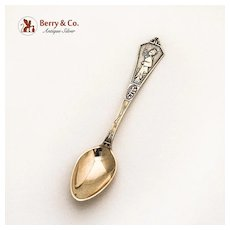 Japanese Demitasse Spoon Sterling Silver Gorham 1870
