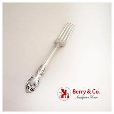 Melrose Dinner Fork Sterling Silver Gorham Silversmiths 1948