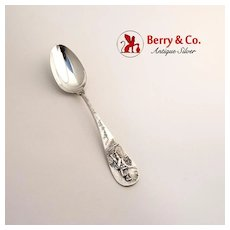 Lexington Souvenir Spoon Sterling Silver D. Low and Co 1900