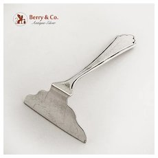 Baby Food Pusher Sterling Silver Rosebud
