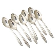 Prelude Demitasse Spoons 8 Sterling Silver International