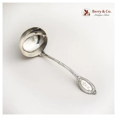 Small Soup Ladle Diana J R Wendt Sterling Silver 1860
