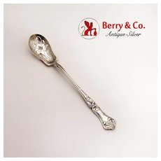 Edgewood Olive Spoon Sterling Silver International 1909