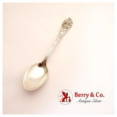 Teaspoon September Poppy Watson Sterling Silver 1903