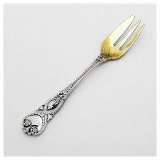 Saint James Pie Fork Sterling Silver Tiffany and Co 1898