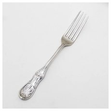 Saratoga Breakfast Fork Sterling Silver Tiffany and Co 1870