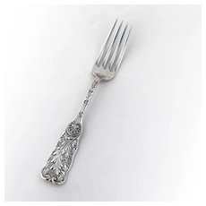 Saint Cloud Dinner Fork Sterling Silver Gorham 1885