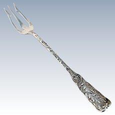 Saint Cloud Pickle Fork Sterling Silver Gorham 1885