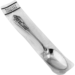 Rose Point Teaspoon Sterling Silver Wallace 1934