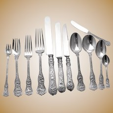 Olympian 99 Piece Flatware Set Sterling Silver Tiffany & Co