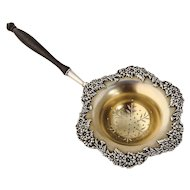 Tea Strainer Ornate Designs Sterling Silver International