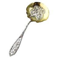 Bon Bon Spoon Open Work Design Sterling Silver 1900