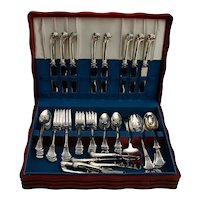 Onslow 57 Piece Flatware Set Sterling Silver Tuttle