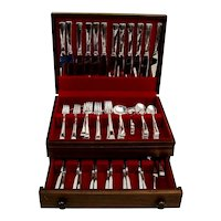 Continental 131 Piece Flatware Set Sterling Silver International 1934