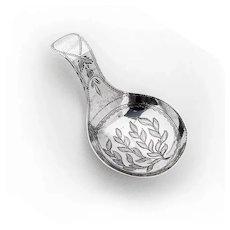 Tea Caddy Spoon Sterling Silver Birmingham 1812