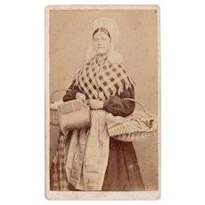 1860's Dutch Flemish CDV / Traditional Holland Clothing