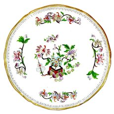1900 Chinoiserie Plates, Oriental Flower Pot Pattern-Buy 1 or 11