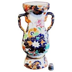 1820's Georgian era Masons Ironstone Imari Spill Vase