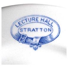 "c. 1910 2 Vitrex Cornish ""Stratton Lecture Hall"" Plates, Cornwall, England"