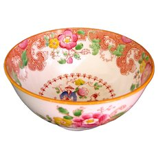 1820's Staffordshire English Chinese Influenced Slop Bowl