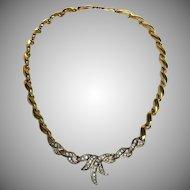 Vintage Nina Ricci Rhinestone Necklace
