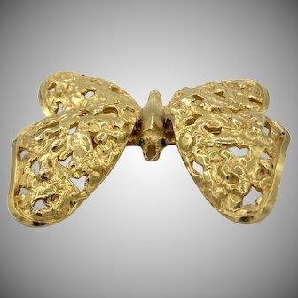 Vintage Pauline Rader Trembler Butterfly Brooch