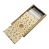 Vintage Stratton Compact Hair Brush