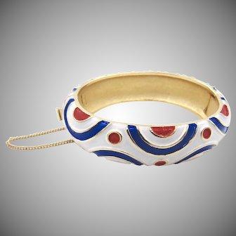 Vintage Trifari 1960's Pop Art Bracelet