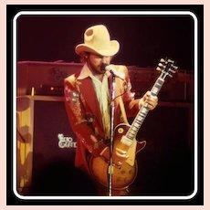 Vintage Nudie Suit, Billy Gibbons 70's ZZ Top, Rhinestone Cowboy