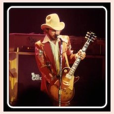 Vintage Nudie Suit, Billy Gibbons 70's ZZ Top, Rhinestone Cowboy