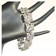 KTF Rhinestone Bracelet, 30's Trifari