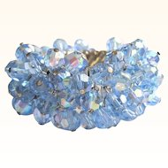 50's Crystal Bracelet, Cha Cha Expansion, Blue