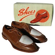 Vintage Cake Decoration, Men's Spectator Wing Tip Shoes,Swing Dance