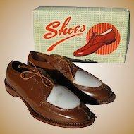 Vintage Cake Decoration, Men's Spectator Wing Tip Shoes,Swing Dance