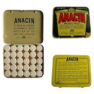 Anacin Tin, Large Purse, 30 Tablets